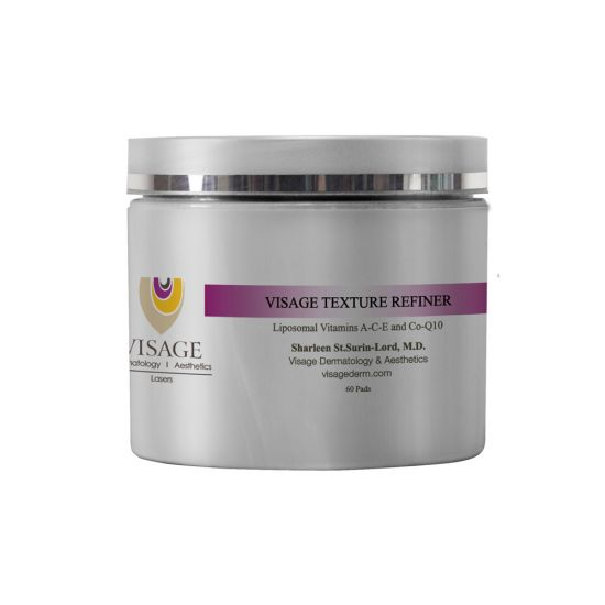 Visage Derm Texture Refiner 10% Glycolic Treatment Pads